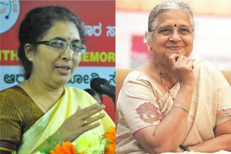 Sudha Murthy and Tejaswini Ananth Kumar