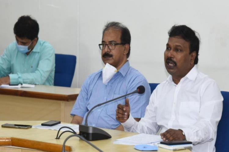 Director of Public Health and Family Welfare Dr G Srinivasa Rao