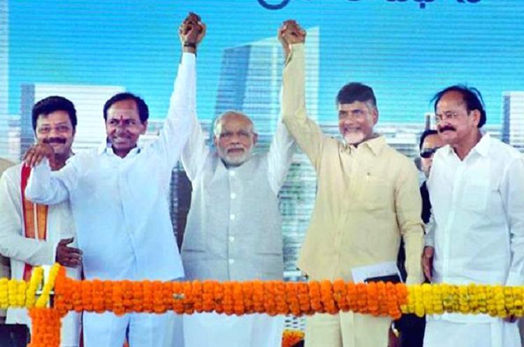 As Telangana readies itself for Modi-KCR bonhomie Naidu will be a worried man