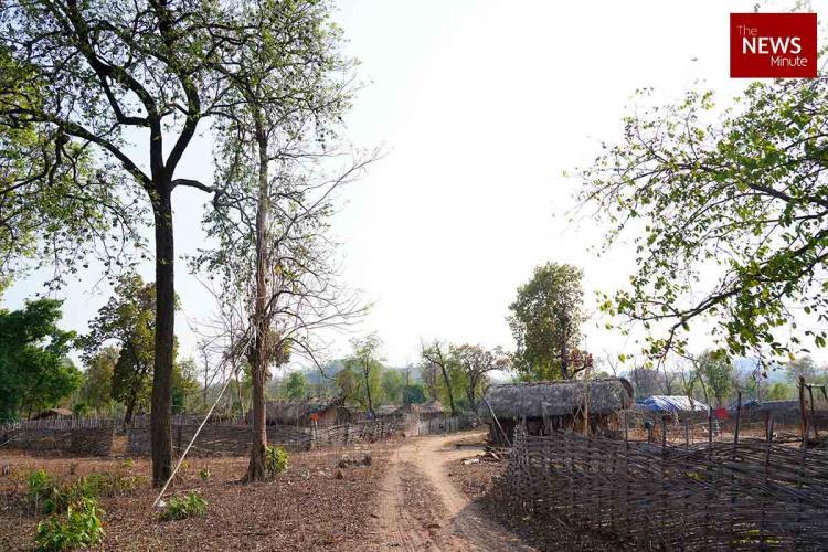 Representative image of a tribal village
