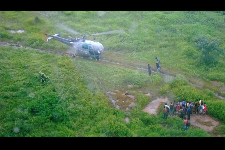 23 migrant labourers stranded in Telanganas flood-hit Medak district rescued by IAF