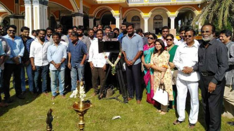 Vishals Temper remake titled Ayogya officially launched with ceremony