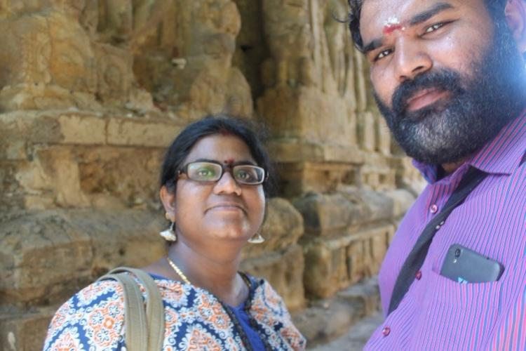 This couple spent their honeymoon chronicling TNs neglected temples
