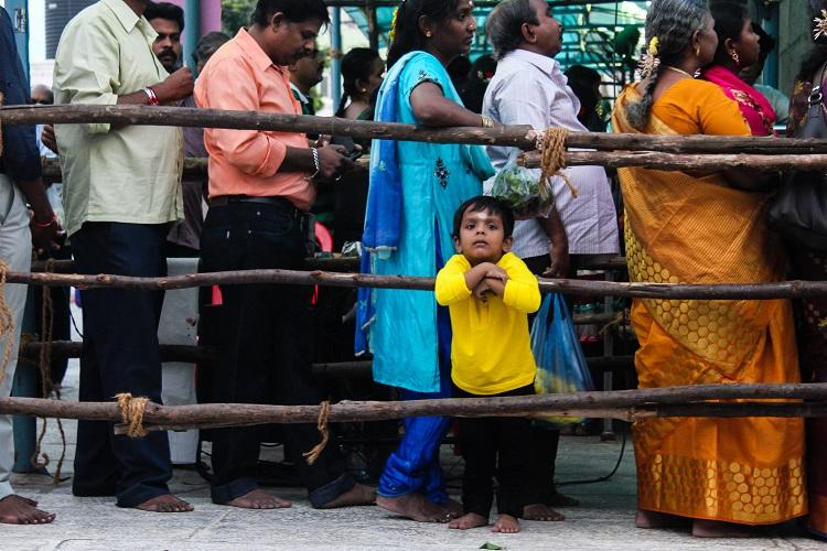 A dress code in temples that almost everyone seems to be welcoming