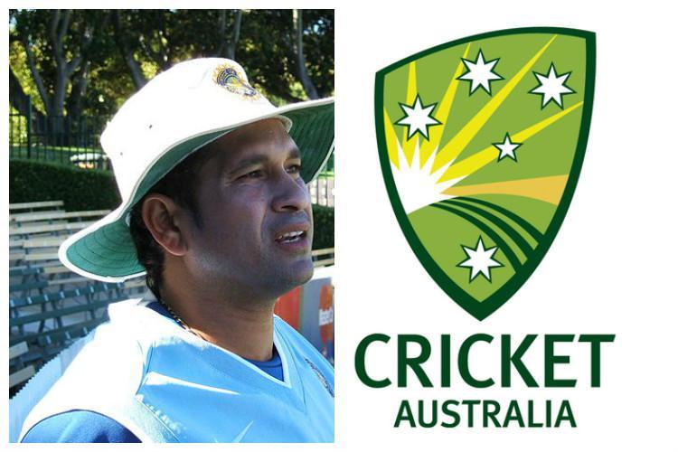 Tendulkar fans vent their ire on Twitter after Cricket Australias cheeky jibe