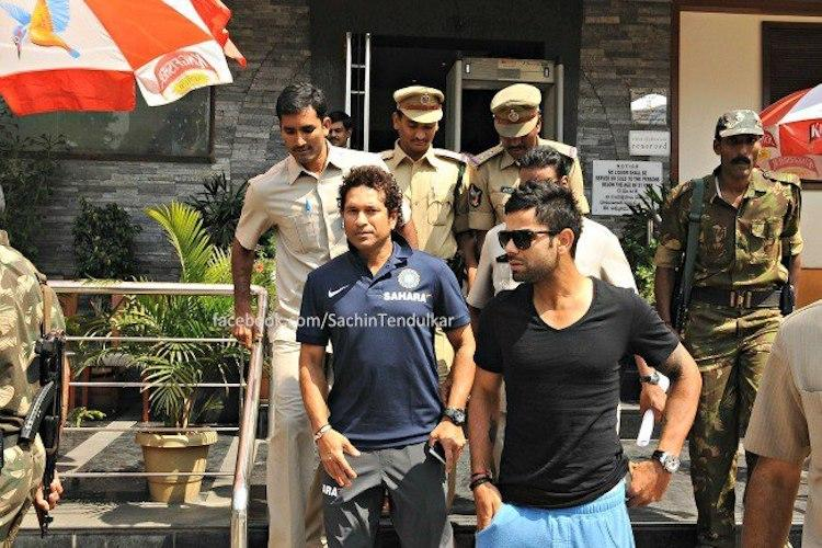 Dont worry whats happening around let your heart guide the way Tendulkar to Kohli