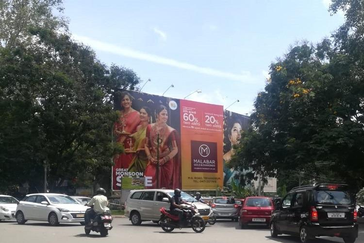 No traffic light few policemen The unmanned busy junctions of Thiruvananthapuram