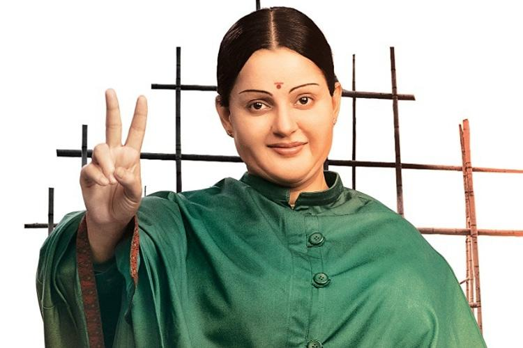 Kangana Ranaut's first looks as Jayalalithaa in 'Thalaivi' revealed