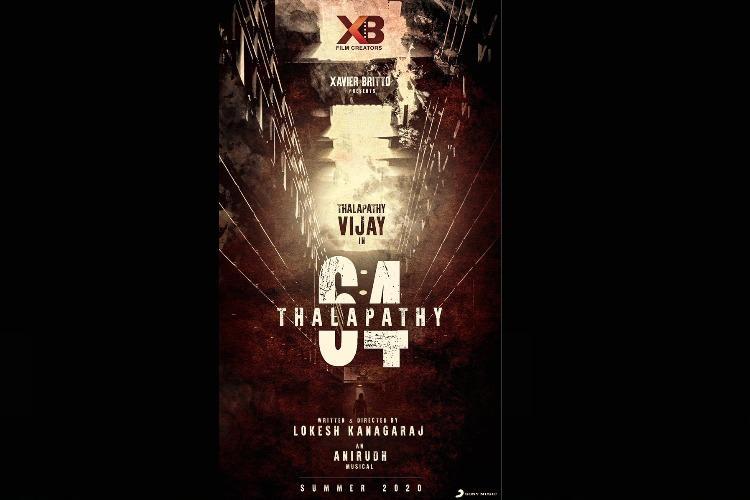 Maanagaram fame Lokesh Kanagaraj officially announces Thalapathy 64 with Vijay
