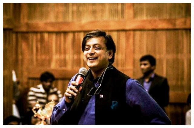Did Shashi Tharoor take a sly dig at himself Look up rodomontade and tell us