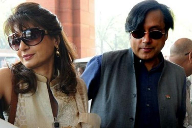 I have no will to live Delhi Police cite Sunandas email as evidence against Tharoor