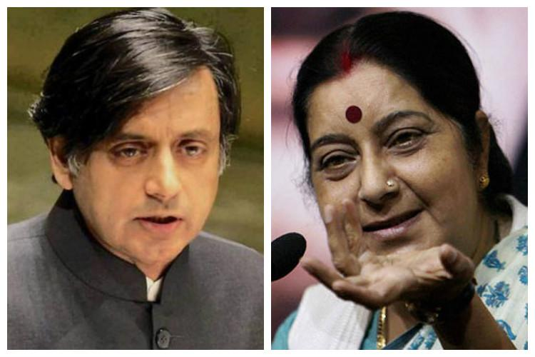 Politics over Saudi rescue Tharoor slams MEA for denying diplomatic passport to Kerala minister