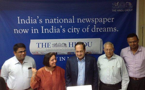 The Hindu launches edition in Mumbai adds focus on pulsating economic activity
