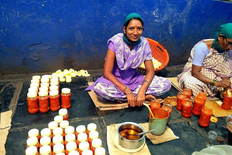 Tangy pickles plus empowerment This project has a tasty recipe for womens rights