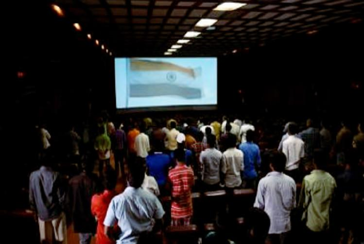 Scuffle breaks out in Chennai theatre after youths refuse to stand up for National Anthem