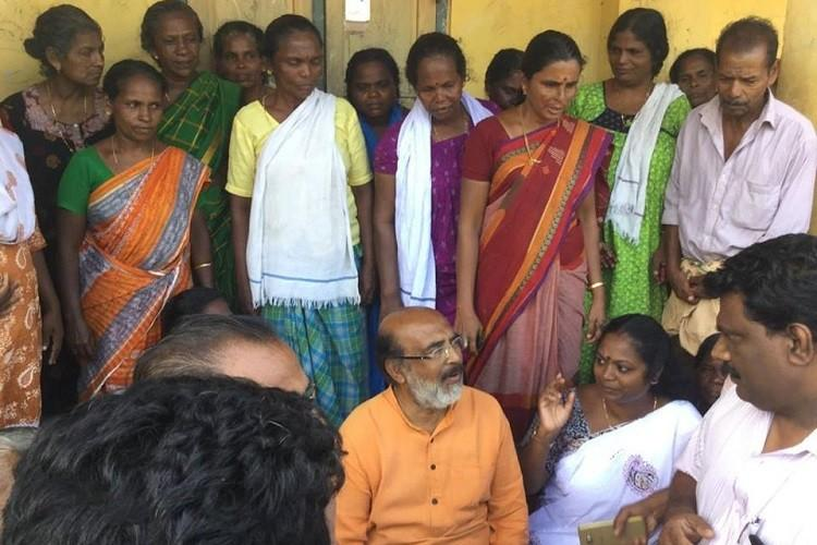 Kerala Floods Vaikom camps ignored because of caste writes minister Thomas Isaac