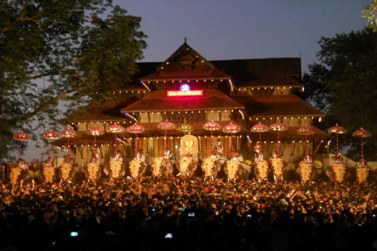 Thrissur Pooram Kerala HC allows low-decibel fireworks Chandy imposes restrictions