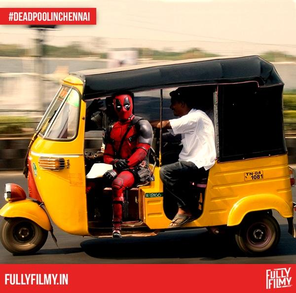 These pictures show Deadpools really a Chennai boy at heart