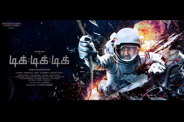 After a zombie film Jayam Ravi is now ready with a space thriller