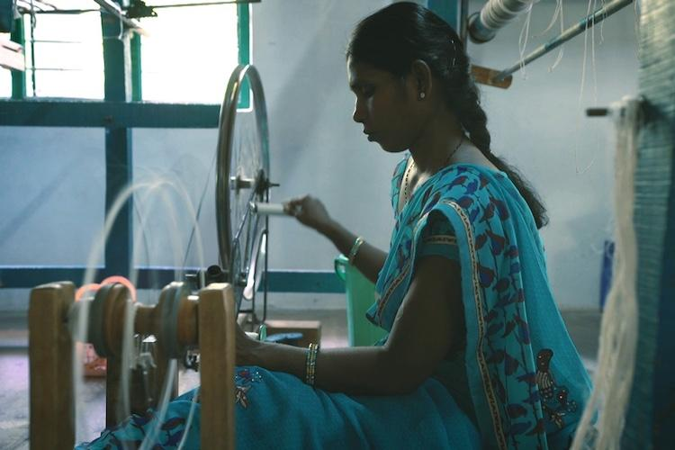 Watch How women in this Andhra village are weaving their own destiny