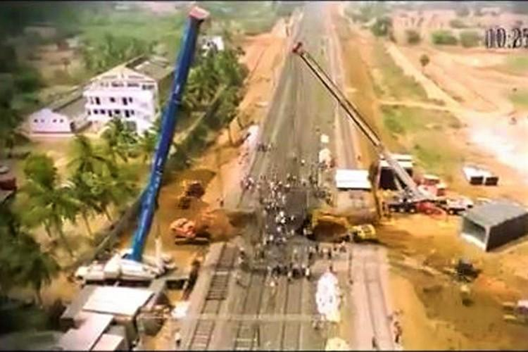 How to build a subway in record time Watch this time-lapse video from the Railways