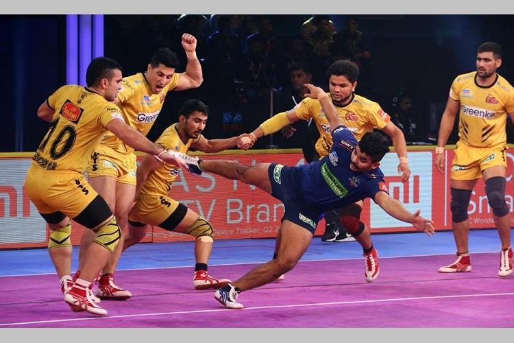PKL Telugu Titans clinch thriller vs Haryana