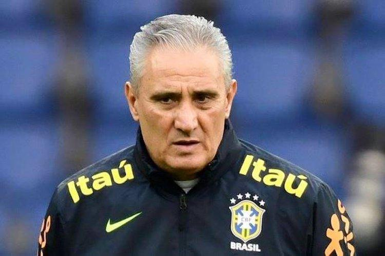 Tag of World Cup favourites wont affect Brazil says coach Tite