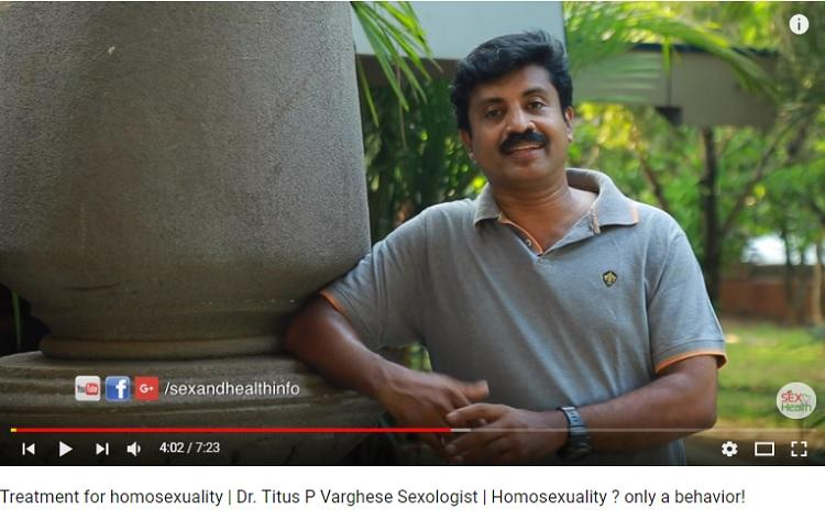Kerala sexologist claims to cure homosexuality LGBTQ community demands action
