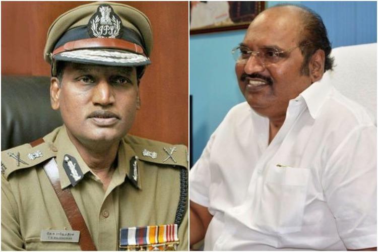 DMK MLA and Gutkha scam petitioner J Anbazhagan says DGP TK Rajendran must quit