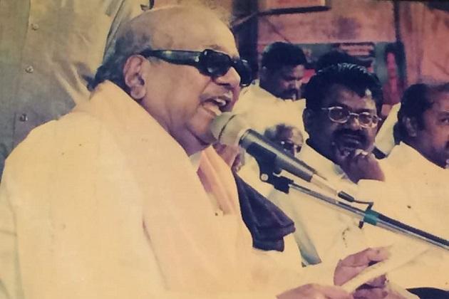 Secret to his long life was his discipline DMK leader recounts Karunanidhis mentoring