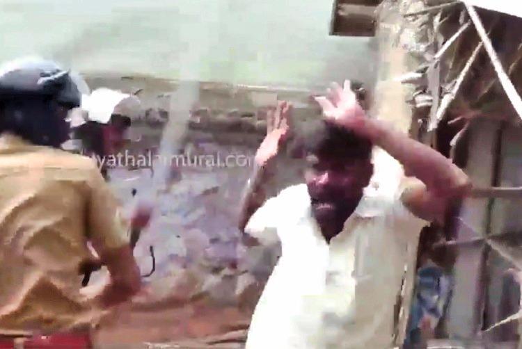 No patience for violent gau rakshaks cops thrash vigilantes in Tamil Nadu
