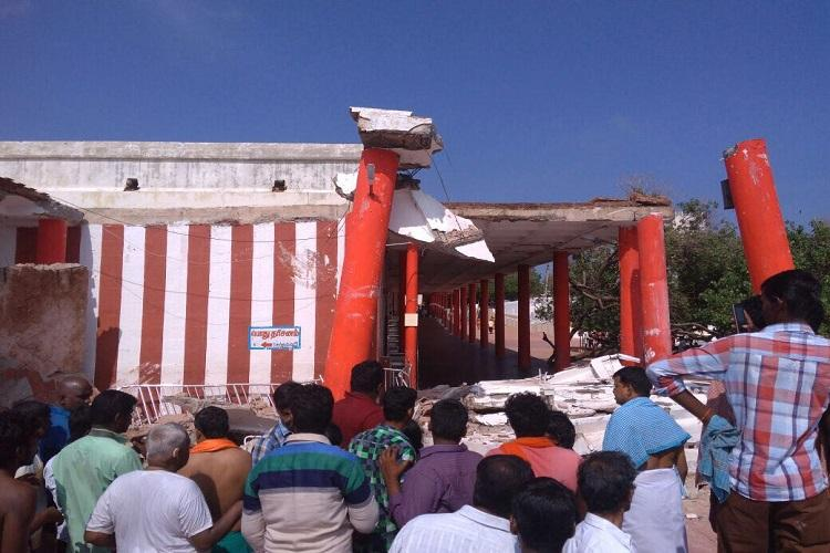 55-year-old woman crushed to death after roof of TN temple collapses