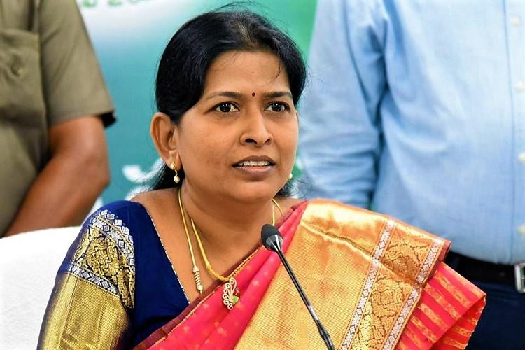 Andhra Minister alleges her signature was forged in letter asking for land allotment
