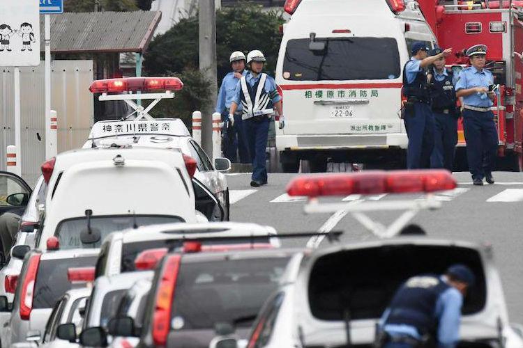 Knife-wielding man kills 19 in Japan arrested
