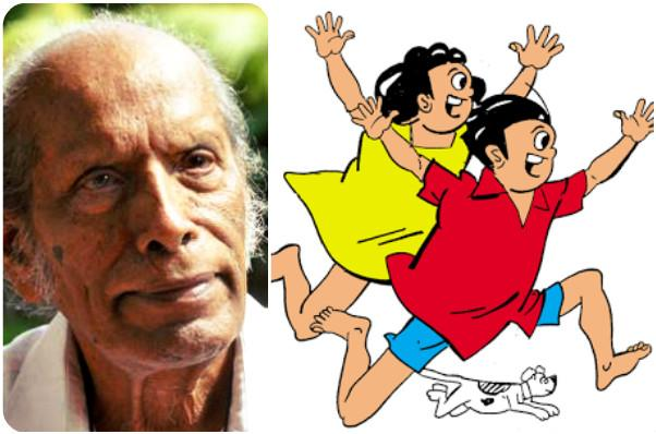 It was cartoonist Toms who imbibed in Malayalis the fad to read a magazine from back to front