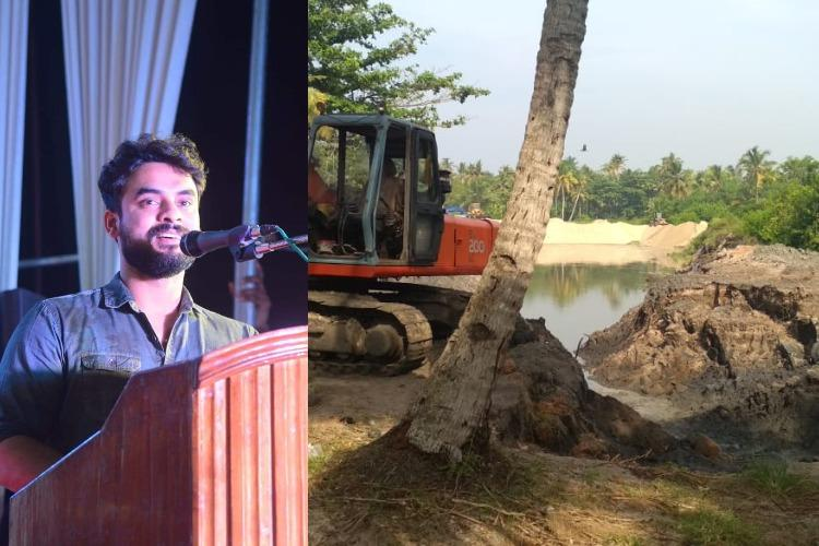 An anti-mining campaign in Kerala thats got support from actor Tovino and Vijay fans