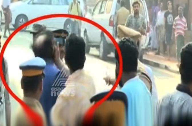SFI sacks leader who slapped former diplomat TP Sreenivasan