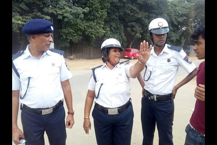 Volunteering their way through road-rage the citizen traffic wardens of Bengaluru
