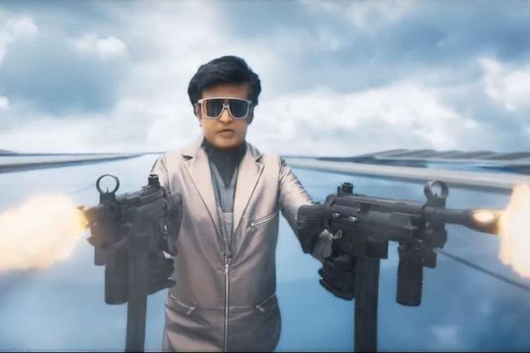 Reloaded Rajinikanth to set your screens on fire 20 trailer is here