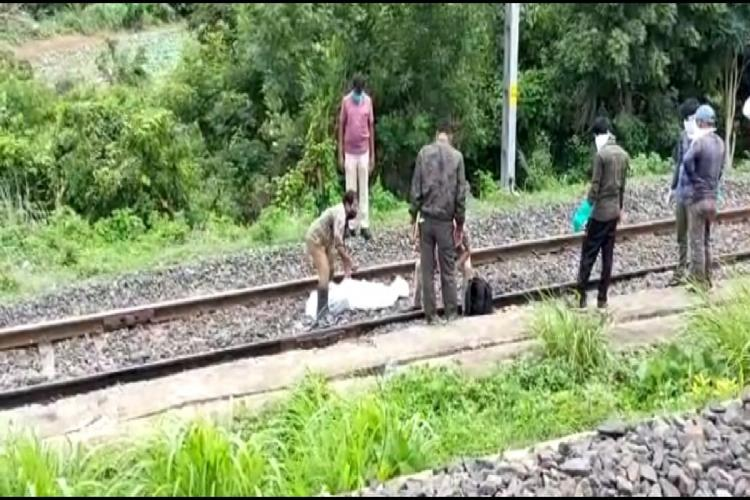 Secundrabad train engine run over workers