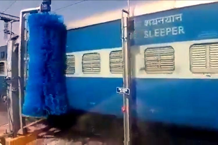 An automatic coach washing plant will now clean exterior of trains in Bengaluru