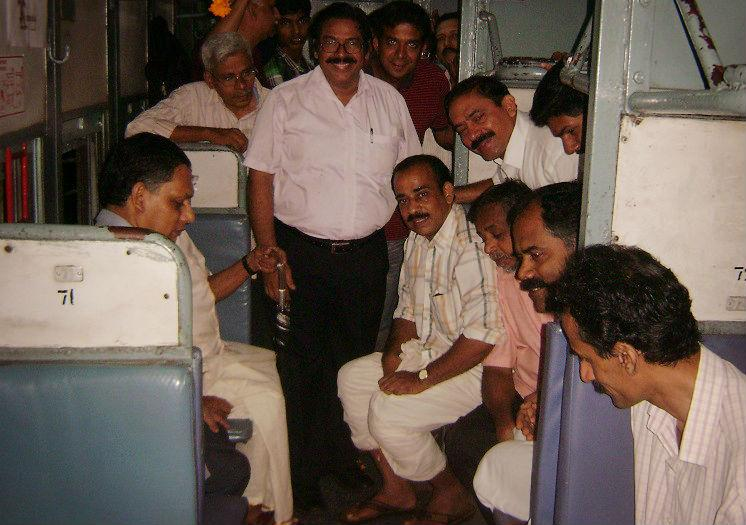 On the same track How a group of train travellers became a community for social causes