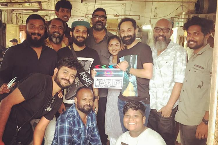 Shooting for Fahadh Faasils Trance wrapped up