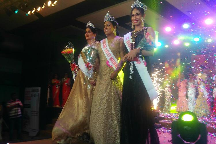 In pictures Queen of Dhwayah Keralas first beauty pageant for transgender women
