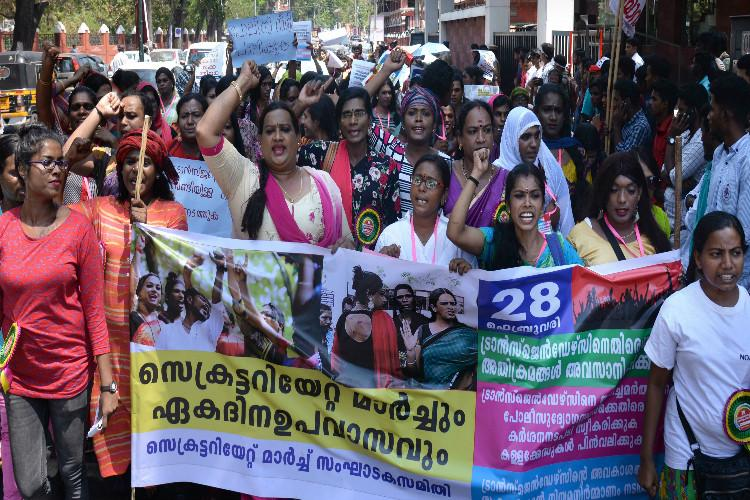 Stop police violence on transgender persons Community launches protest in Kerala