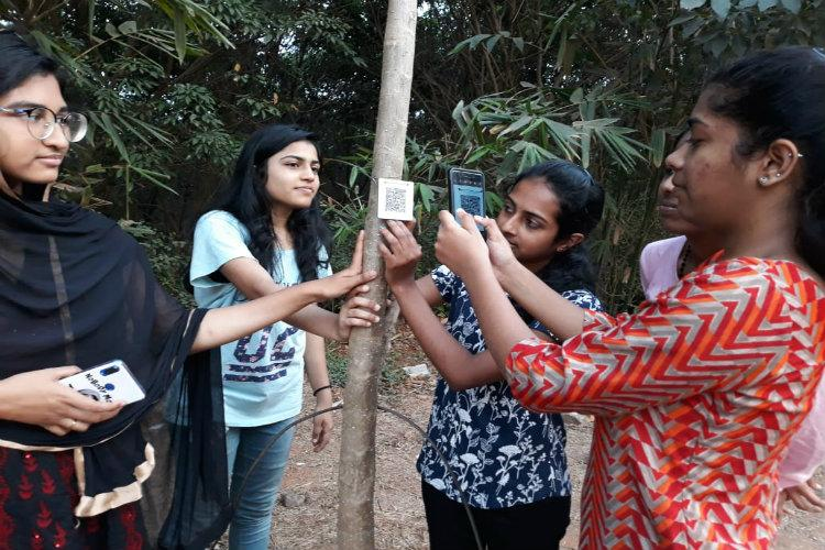 How a Mangaluru professor is using geo-tagging QR codes to help save trees from the axe