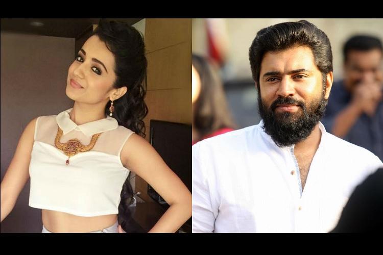 Apdi podu Trisha to debut in Malayalam film opposite Nivin Pauly
