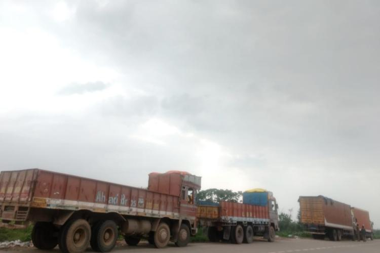 Nationwide truck strike hits services in Andhra and Telangana