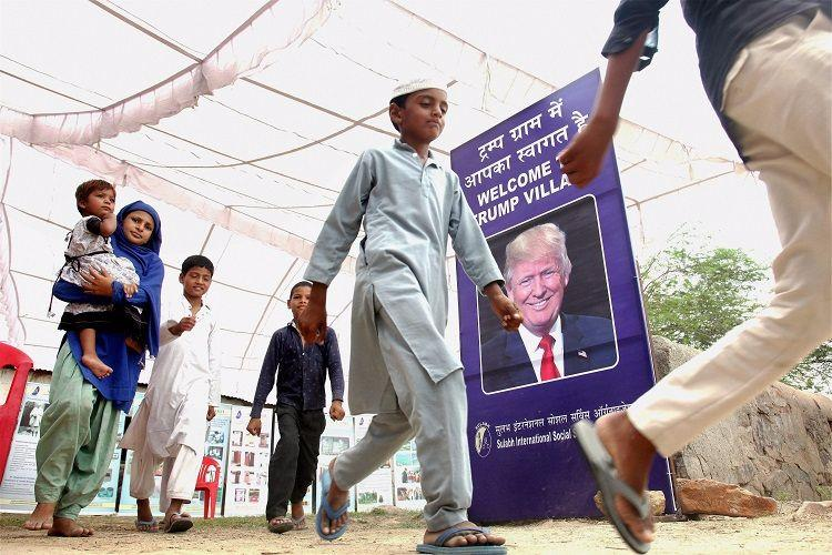 Ready for todays mind blowing moment Theres a village in India named after Donald Trump