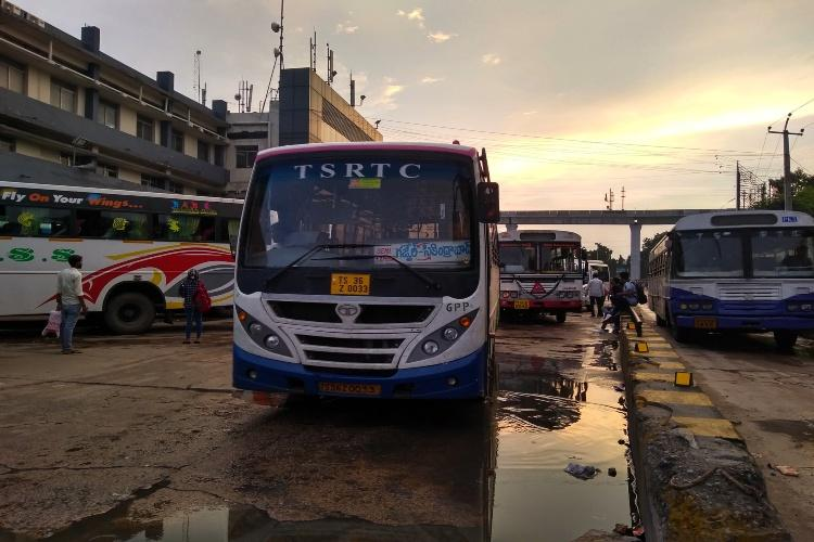 Dark Deepavali for Telangana RTC employees as strike enters 23rd day